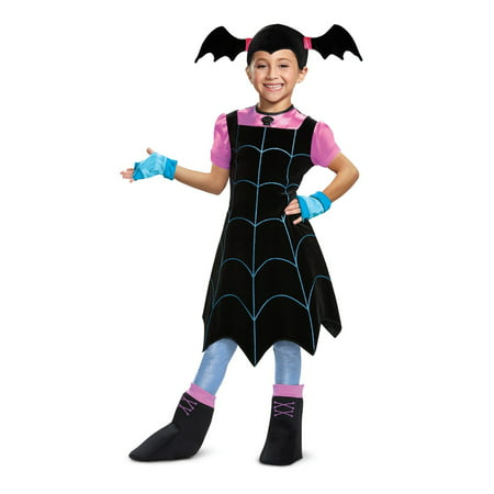 Vampirina Deluxe Toddler Halloween Costume](Quick Simple Last-minute Halloween Costumes)