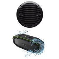 Rockford Fosgate RM18D4B 8 300w Marine_Boat Subwoofer Prime Sub + Free Speaker