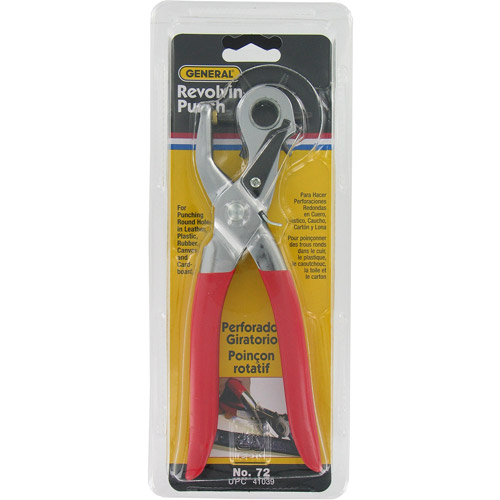 General Tools Revolving Punch Pliers, 72