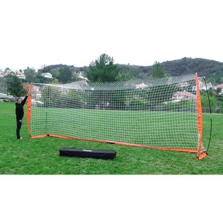 6916618e9 Bownet BOW Portable Soccer Goal (8'x24') with 2 Bownet Sand Bags ...