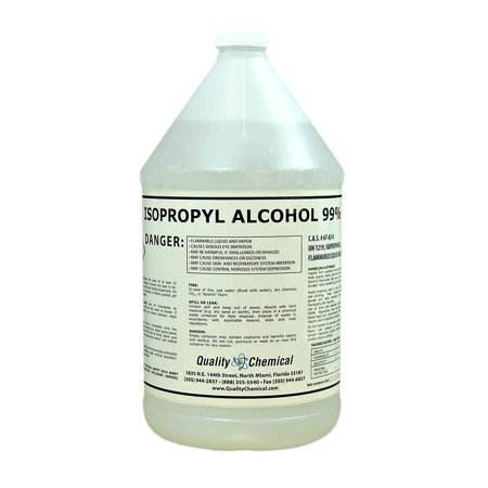Isopropyl Alcohol Grade 99% Anhydrous  (IPA) - 1 gallon (128 oz.)
