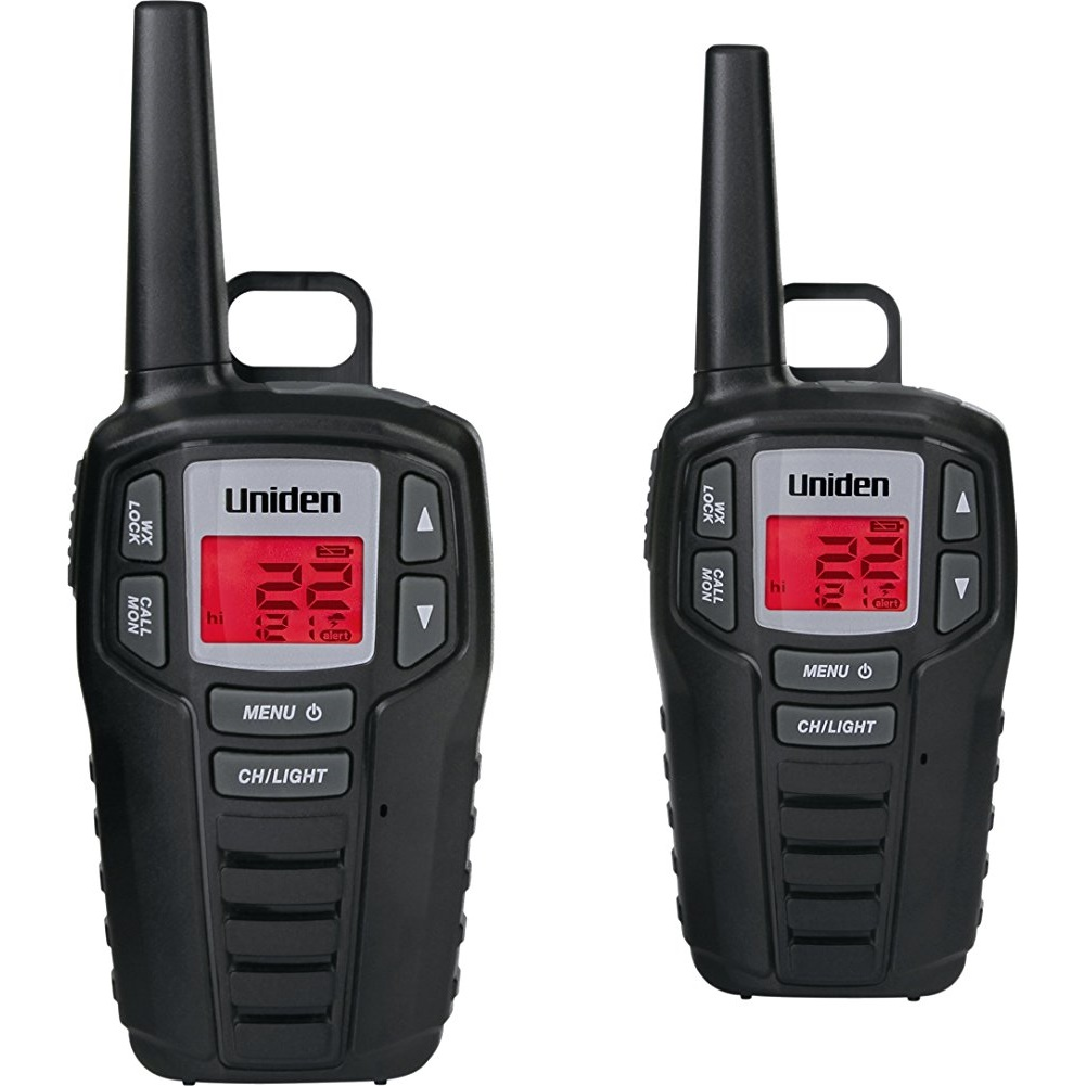 SX167-3CH 16-Mile 2-Way FRS/GMRS Radios (3 pk; with 9 batteries) - Uniden(R) SX167-3CH 16-Mile 2-Way FRS/GMRS Radios (3 pk; with 9 batteries