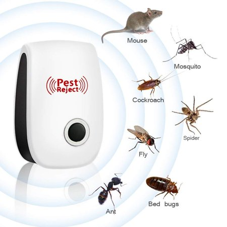 EECOO Electronic Magnetic Repeller Anti Mosquito Insect Killer,Ultrasonic Pest Reject Electronic Magnetic Repeller Anti Mosquito Insect Reject US Plug Garden Yard Insect Killer