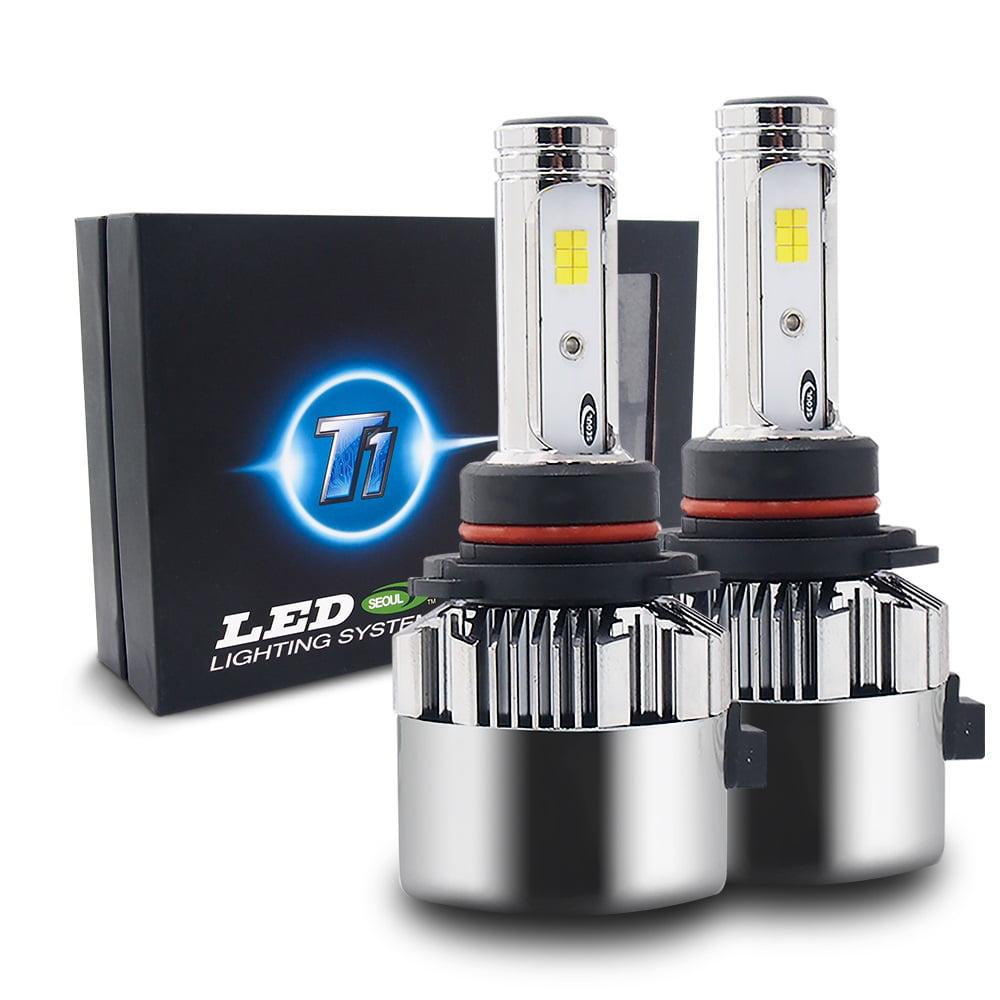 H1 Seoul LED CSP 72W 8000LM 6000K 6K White Kit Headlight High Beam Bulbs