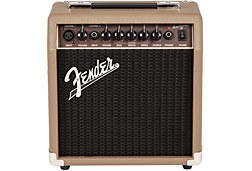 Fender Acoustasonic 15 Combo 2 Channel Acoustic Guitar Amplifier