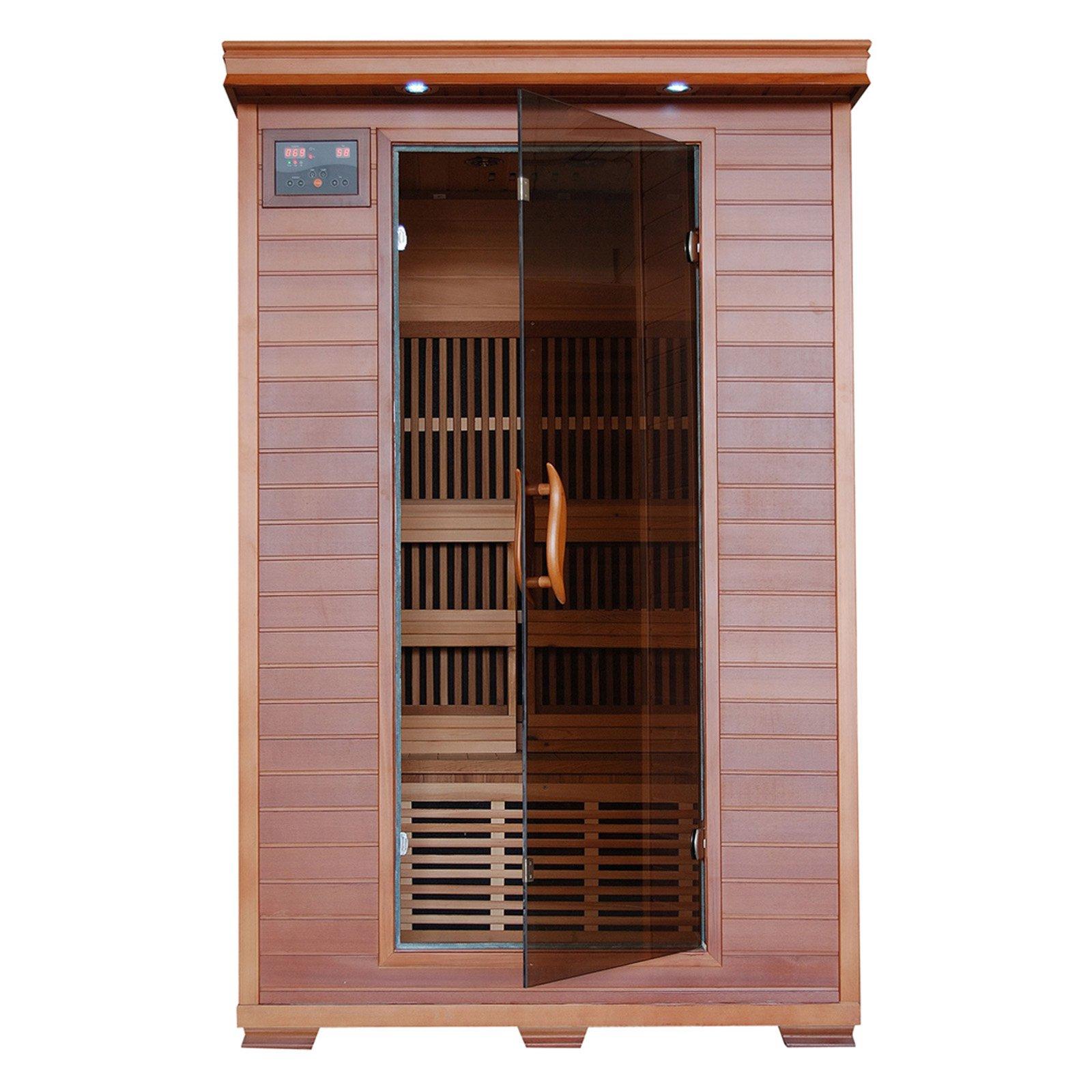 Radiant Sauna 2 Person Cedar Deluxe Infrared Sauna