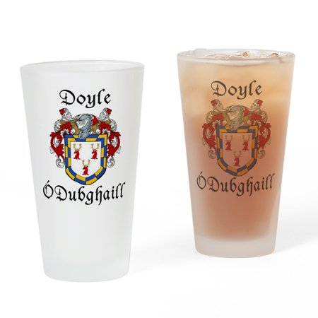 CafePress - Doyle In Irish & English Pint Glass - Pint Glass, Drinking Glass, 16 oz. CafePress