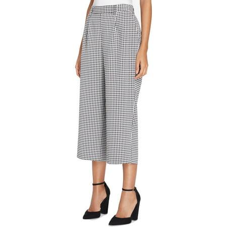 Tahari Women Suits (Tahari by ASL Womens Petite Gingham Cropped Pants )