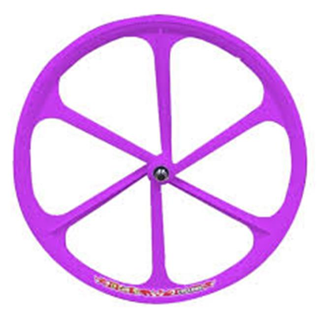 Teny Rims 57FGWPEF Fixed Gear Front Wheel - Purple