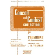Rubank Educational Library: Concert and Contest Collection for Trombone: Piano Accompaniment (Other)