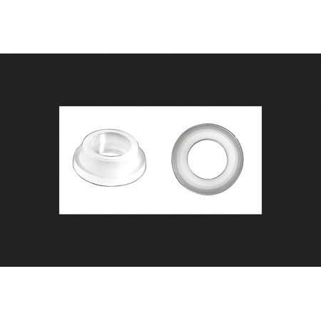 Danco Ballcock Coupling Nut Washer 13/16 in. x 1/2 in. x 1/8 in. Polyethylene (Coupling Nut Washer)