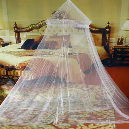 Universal Dome - Universal Elegant Round Lace Insect Bed Canopy Netting Curtain Dome Polyester Bedding Mosquito Net Home Furniture
