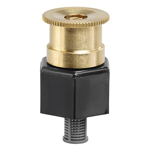 Orbit Full Pattern Brass Irrigation Shrub Head Sprinkler, 15-Foot Radius- 54051