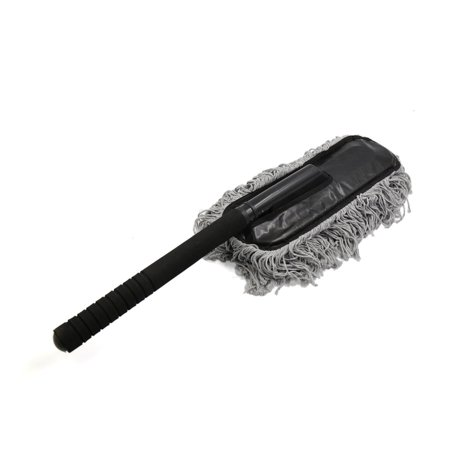 gray microfiber chenille sponge handle wax duster dust brush mop for car home. Black Bedroom Furniture Sets. Home Design Ideas
