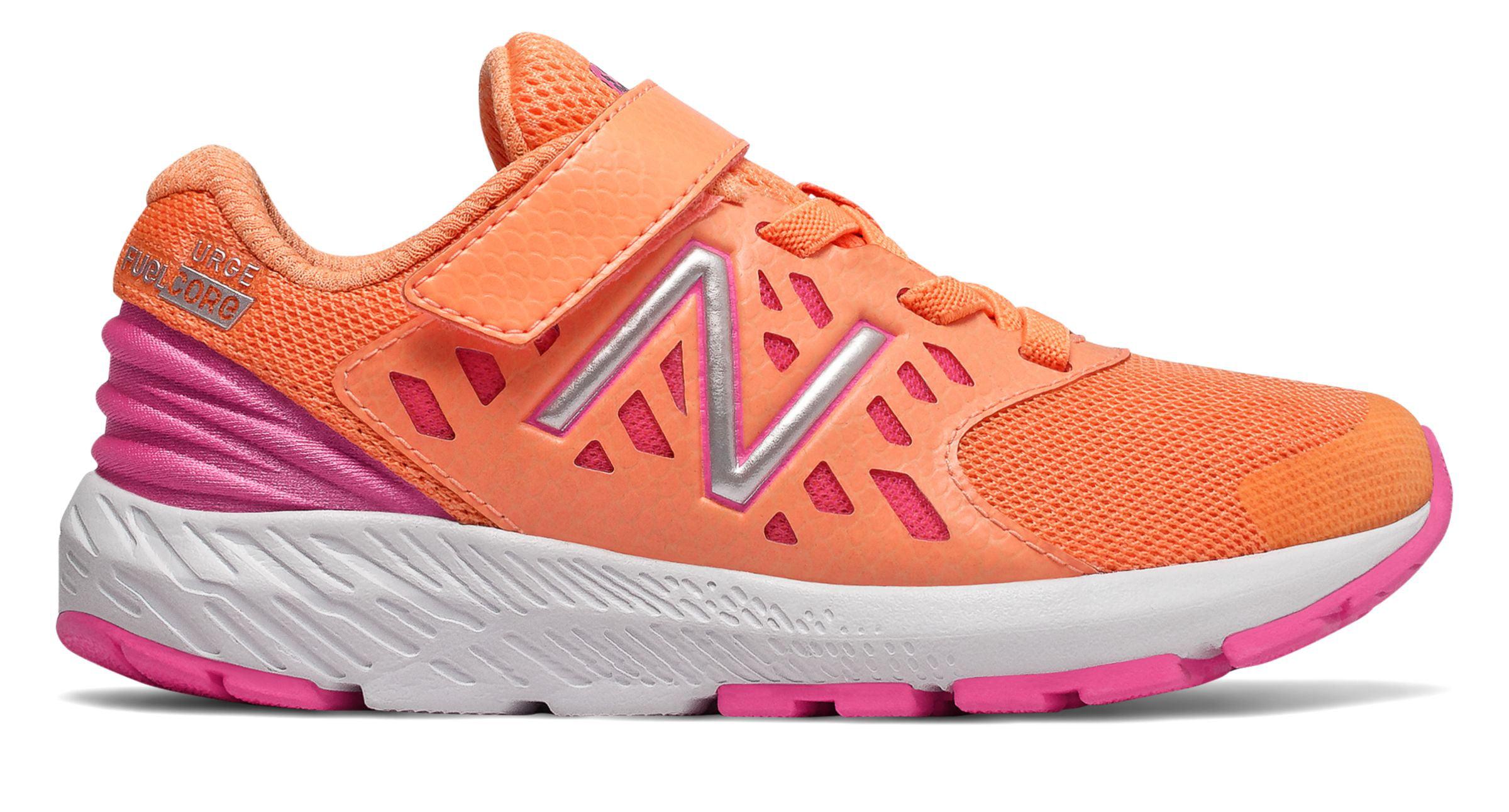 Kids Female Shoes Orange