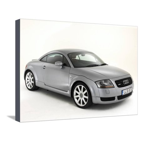 - 2001 Audi TT Coupe Stretched Canvas Print Wall Art