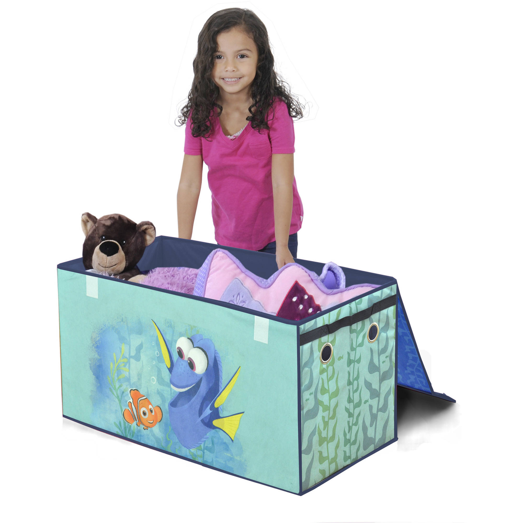 Disney Finding Dory Oversized Soft Collapsible Storage Toy Trunk