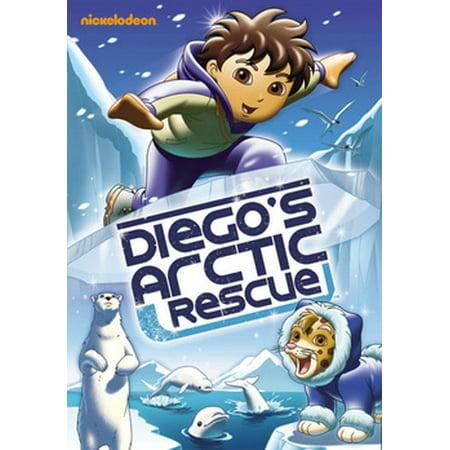 Go Diego Go: Diego's Arctic Rescue (DVD) (Go Diego Go Halloween Movie)