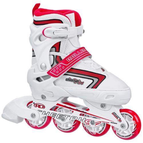 Roller Derby Cheetah S4 Girl's Adjustable Inline Skates