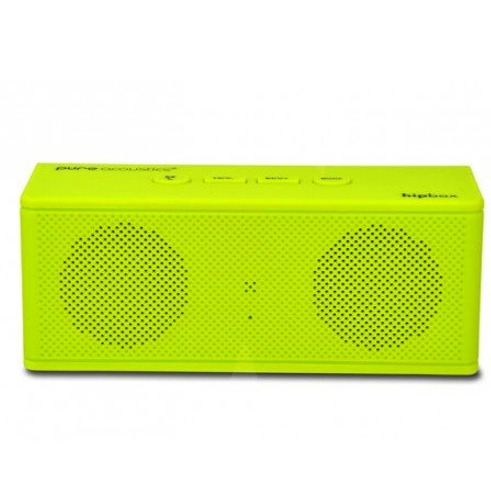 Wireless Portable Bluetooth Speaker With AUX - Lime Green