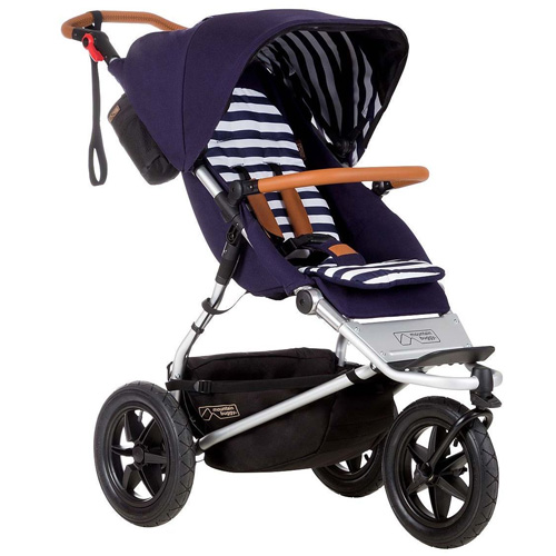 Mountain Buggy Urban Jungle Luxury Collection-Nautical Urban Jungle Luxury Collection Stroller