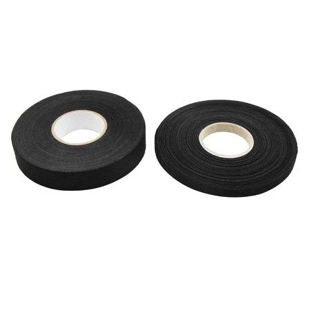 Mini Wiring Loom (2 In 1 Black Universal Adhesive Cloth Fabric Car Wiring Harness Looms Tape )