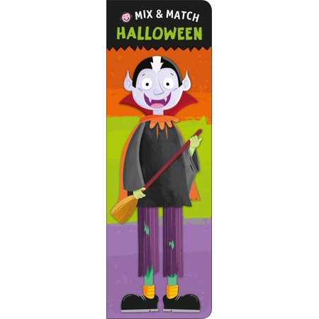 Mix and Match: Halloween (Board Book)