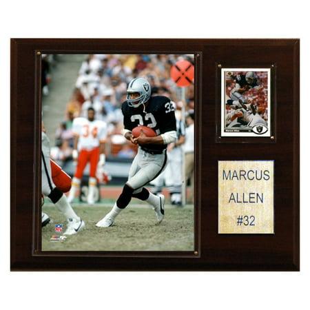 C&I Collectables NFL 12x15 Marcus Allen Oakland Raiders Player Plaque