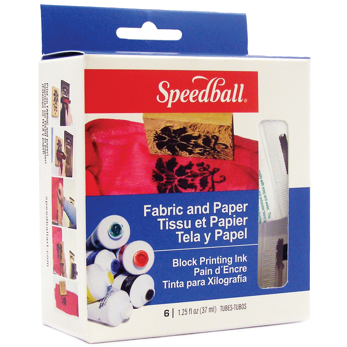 Speedball Block Printing Kit for Fabric & Paper