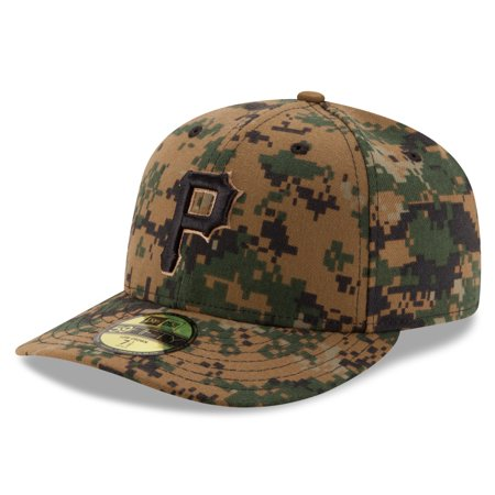 92f4bb009f9 Pittsburgh Pirates New Era 2016 Memorial Day Low Profile 59FIFTY Fitted Hat  - Digital Camo -