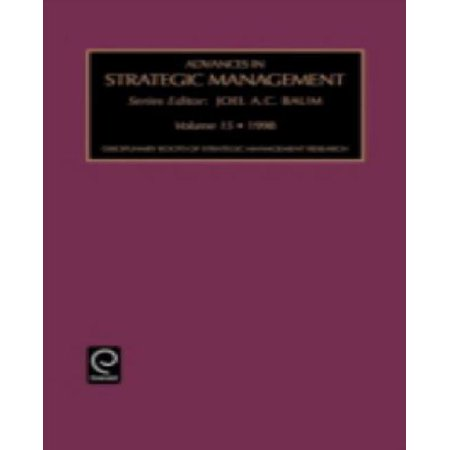 Disciplinary Roots of Strategic Management (Advances in Strategic Management) - image 1 de 1