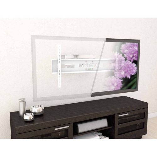 """Sonax M-011-MPM Full Motion Flat Panel White Wall Mount for 37"""" - 70"""" TVs"""