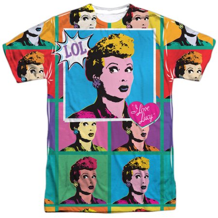 Lucy Lol Mens Sublimation Shirt