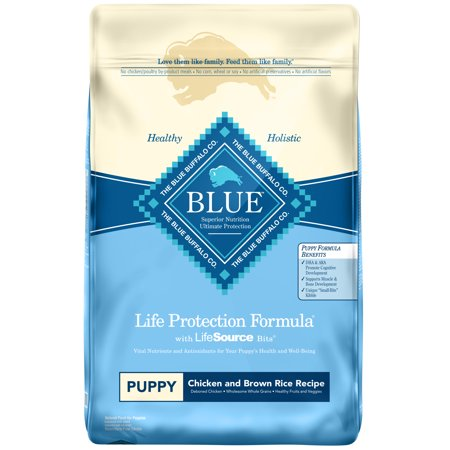 Blue Buffalo Life Protection Formula All Breeds Puppies Dry Dog Food, Chicken and Brown Rice Recipe, 30-lb