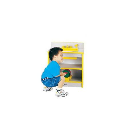 Rainbow Accents Toddler Toy Kitchen Sink w Working Knobs (Black)