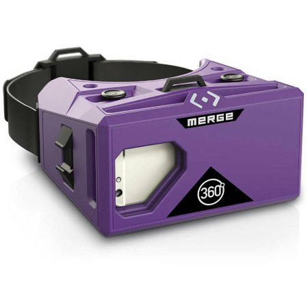 Merge AR/VR Mobile Headset - Pulsar Purple