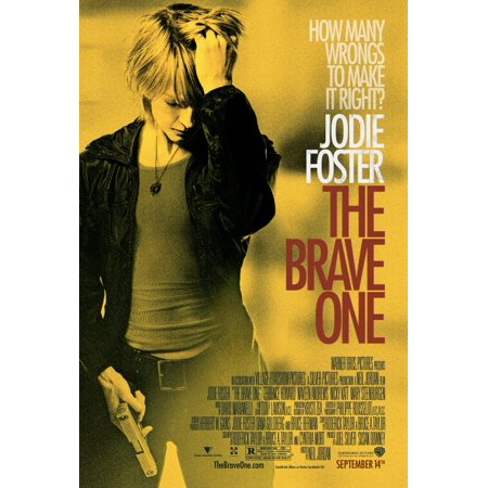 The Brave One Poster Movie  27X40