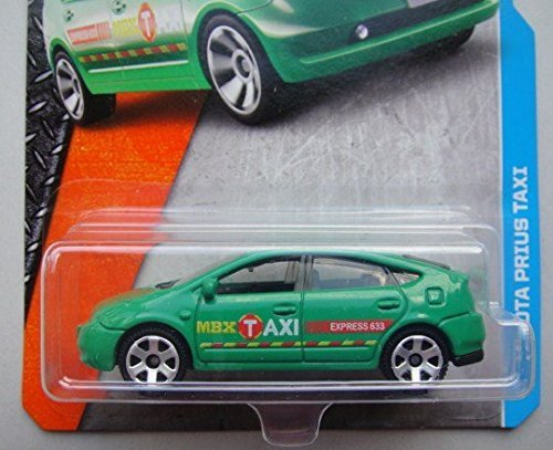 Matchbox, 2016 MBX Adventure City, Toyota Prius Taxi [Green] #9 125 by Mattel