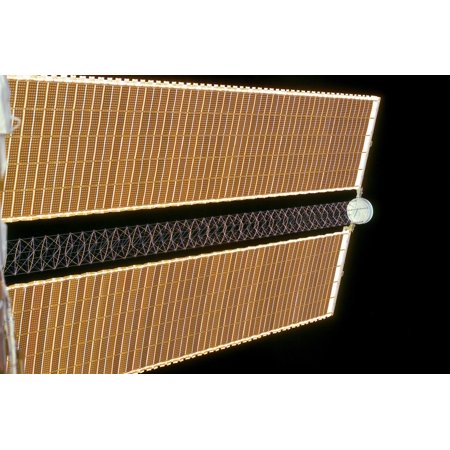 Starboard solar array wing panel Poster Print