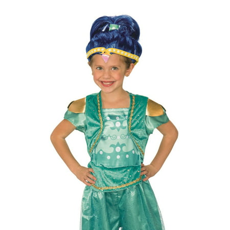 Shimmer And Shine Shimmer Wig Halloween Costume Accessory - Shine Light Jesus Halloween Crafts