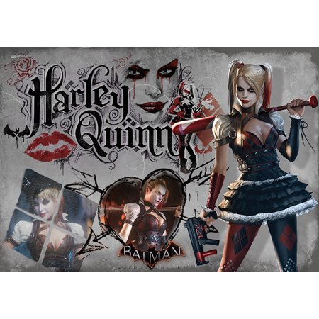 SDCC 2015 Exclusive - Arkham Knight (Harley Quinn) MightyPrint Wall Art