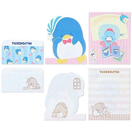1 Die Cut Memo Pad - Sanrio Character Notepad Memo Pad Die Cut Design ***1 Single notepad pero order*** Pompompurin, Badtz Maru, or Tuxedosam available (Tuxedosam)