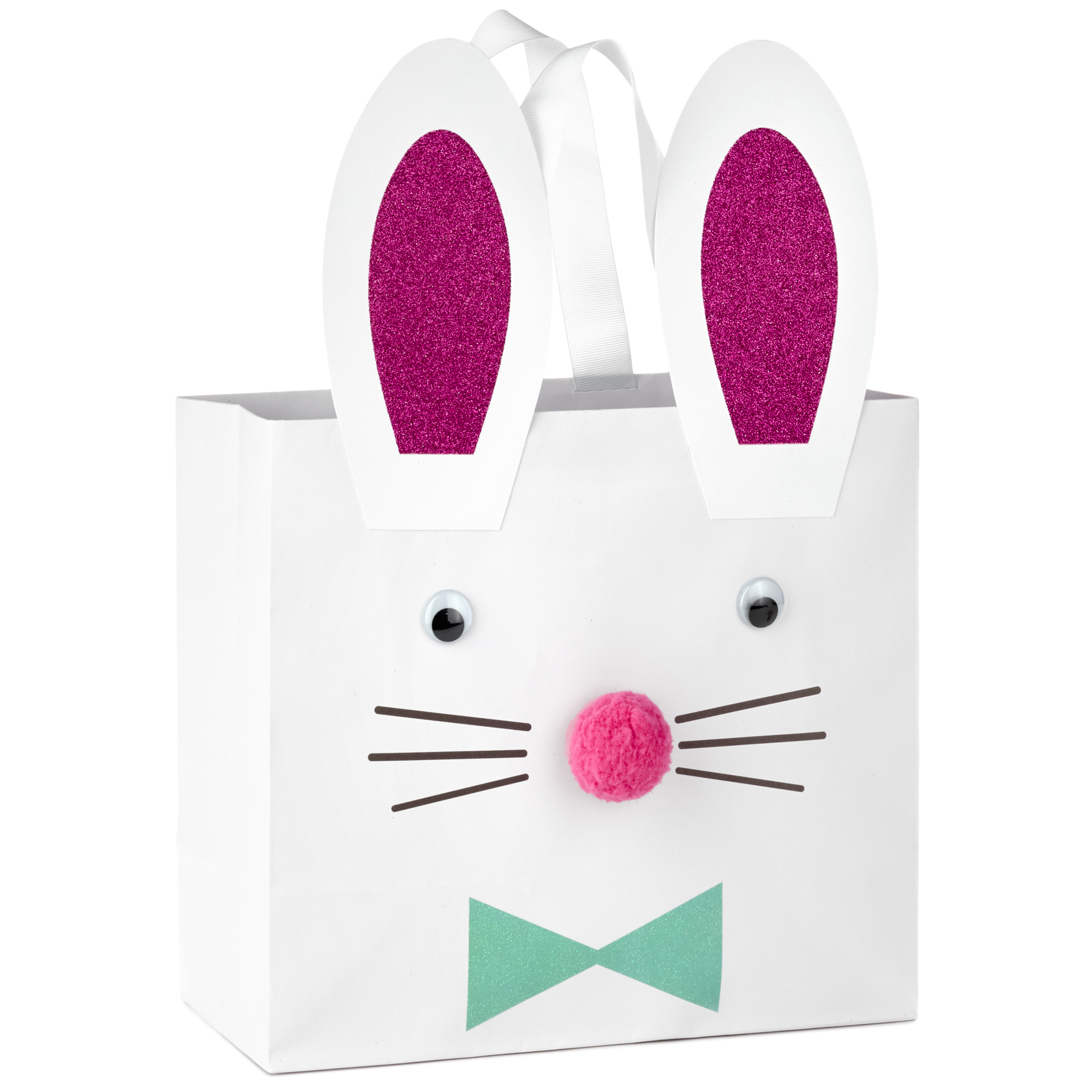 50 pcs Easter Rabbit Sweets Gifts Presentation Party Bags Bunny Long Ears