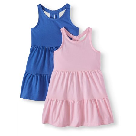 Racerback Solid Dresses, 2-pack (Toddler Girls)