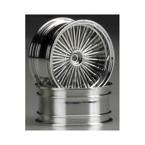 87007 Gangster Wheel Chrome (2) Multi-Colored