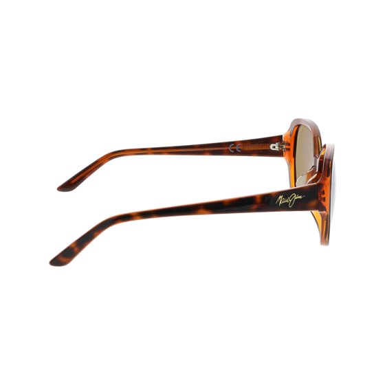 26f8b3be9 Maui Jim Women's Polarized Swept Away HS733-10N Brown Butterfly Sunglasses.  Country of Origin: United States
