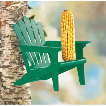 Adirondack Squirrel - Adirondack Chair Squirrel Feeder - Green