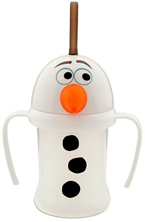 Click here to buy Disney Frozen Olaf Cup with Straw by Disney.