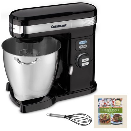 Cuisinart SM-70BK 7-Quart Stand Mixer (Black) with Whisk and Cookbook (Refurbished) (Cuisinart Mixer Grinder)