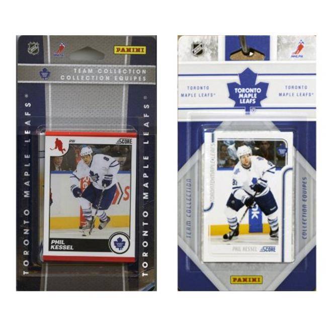C & I Collectables LEAFS2TS NHL Toronto Maple Leafs Licensed Score 2 Team Sets